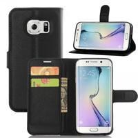 Samsung Galaxy S7 Edge G935 Coque de protection Housse Pochette Wallet Case Noir