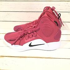 Nike Hyperdunk X TB Promo Mens Size 8.5 White Pink Cancer Awareness AT3866-609