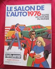 L'AUTO-JOURNAL  N° SPECIAL SALON  1976  de SEPTEMBRE 1976