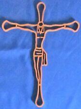 Christ On Cross - Hand Cut From Alder