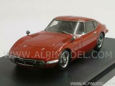 Toyota 2000 GT 1970 Solar Red 1:43 HPI RACING 8331