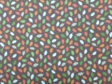 Lewis and Irene Oak Leaves 100% Cotton fabric by the half metre