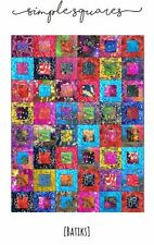 Batik Quilt Kit Pattern and Fabric Included PRE CUT