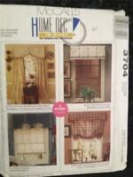 Sewing Pattern No 3704 McCalls Home Decorating One Envelope Uncut