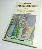 T. S. Eliot: The Waste Land & Other Poems; Near Mint paperback poetry collection