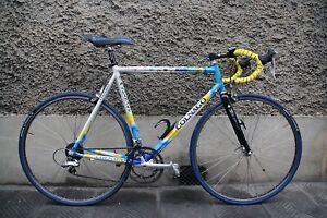 colnago dream lux team mapei shimano durace 7700  italy vintage bike columbus 3t