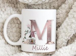 Pink Gonk Gonks Mug Cup Gift Novelty Personalised Birthday Christmas Present