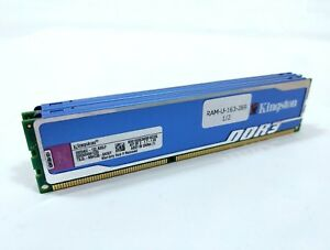Kingston HyperX blu KHX1600C9D3B1K2/2G 2GB Kit (2x1GB) PC3-12800 DDR3-1600 RAM