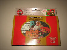 Limited Ed COCA-COLA Nostalgia Playing Cards  2 Sealed Decks Collectible Tin