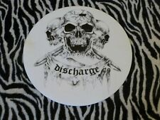 DISCHARGE  TURNTABLE (RECORD PLAYER) SLIPMAT.