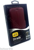 Genuine Otterbox Strada Crafted Protection Leather Flip Case Samsung Galaxy S6