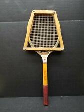 Wilson Jack Kramer Stroke Master Vintage Wood Tennis Racquet with Rack