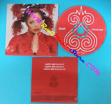 CD Singolo Janet Jackson Together Again VSCDJ 1670 EUROPE PROMO CARDSLEEVE(S26)