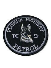 Florida Highway Patrol K-9 Unit Patch.(Subdued)