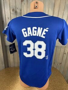 NWT MAJESTIC Youth Large  Los Angeles Dodgers Eric Gagne Baseball Jersey