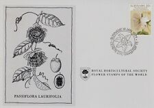 First Day Cover : SURINAME 1981 Royal Horticultural Society Flower Stamp!
