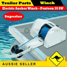 Superior Electric Anchor Winch -  Pontoon 35 - Salt Water - Boat