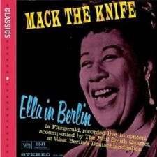 "ELLA FITZGERALD ""ELLA IN BERLIN"" CD NEU"