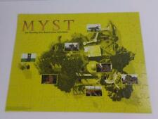 Myst Board Game Replacement Yellow Puzzle Pieces Complete