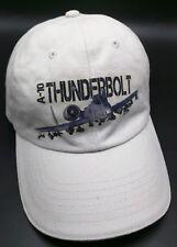 A-10 THUNDERBOLT beige adjustable cap / hat - 100% cotton