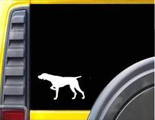 """German Shorthaired Pointer Dog Animal Sticker Vinyl Decal 6"""" White"""
