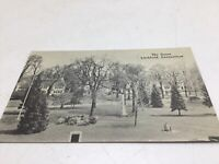 Litchfield CT Real Photo Postcard Picture RPPC Early 1900s Green Houses Monument