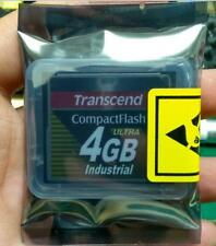 2PCS Transcend 4GB Industrial CF Card Ultra High speed wide temp cf