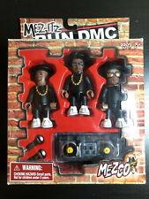 Mezco Mez-its Run DMC Mini Figures Rare 2002
