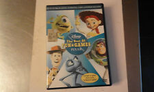 DVD-DISNEY PIXAR-THE BEST OF FUN & GAMES-OLOGRAMMA TONDO