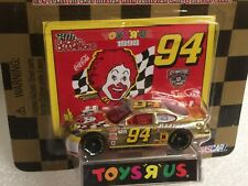 1:64 Bill Elliott #94 McDonald's HAPPY MEAL NASCAR Die-Cast TOY R US 1 of 9,998