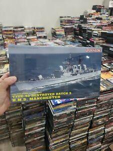SEALED Dragon Type 42 Destroyer Batch 3. HMS MANCHESTER Model Kit #7022  1:700