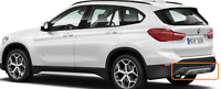 Neuf Véritable BMW X1 F48 2014-2018 Pare-Chocs Bord Panneau 7403397 OEM