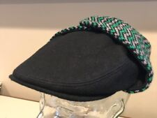 ef0cb4c4 Kangol Aerial 7 Bugatti Ear Flaps RARE Hat Cap Ivy Cap SMALL ~