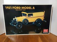 VINTAGE MINICRAFT 1931 FORD MODEL A DELIVERY VAN 1:6 #1532 Sealed Contents