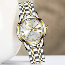 Gold  White Fashion women Quartz watches 2020 Luxury water resistant watch