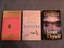 3 paperback book lot: Winners, Honor Thyself, Remembrance.  Danielle Steel