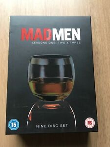 Mad Men - Series one, two and three (DVD, 2010, 9-Disc Set, Box Set)
