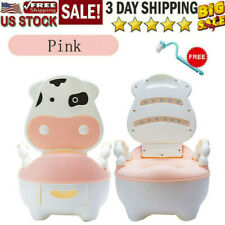 Cute Cow Potty Training Toilet Seat Baby Portable Toddler Chair For Kids Girls