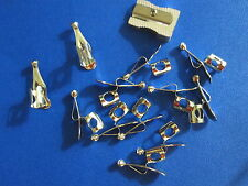 (12+1) 12 Genuine US-made Faultless Pencil Clips + 1 Lyra 9491 Sharpener- $16.49