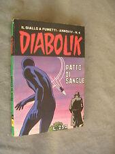 DIABOLIK ORIGINALE ANNO XIV n°  4 - 1975 - RARO - OTTIMO