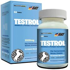 GAT TESTROL Testosterone Booster & Sexual Stamina 60 Capsules