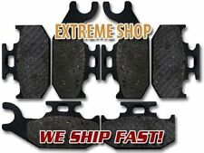 Bombardier Front Rear Brake Pads Traxter XL (02-04) XT (2001) Autoshift (02-05)