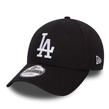 NEW Era Black LA Dodgers Essential 9 FORTY Cap NEU mit Etikett