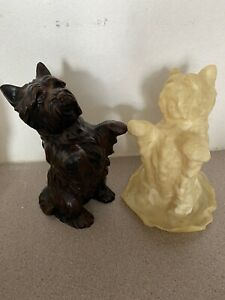 Garden Ornament Latex Rubber Mould Of A Lovely Westie Dog..