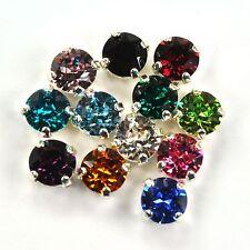 Swarovski 39ss Sew On Crystals 1088 Birthstone Mix Xirius 12 Pieces