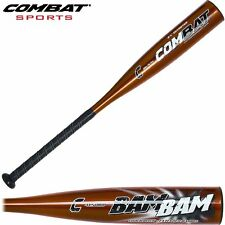 "Combat BAM BAM Coach Pitch 27"" 15.5 oz. 2-3/4 Barrel Composite Baseball Bat"