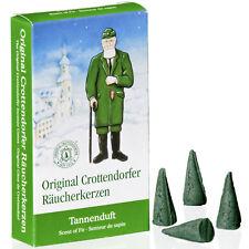 24 Crottendorfer Räucherkerzen Räucherkegel Dhoop Cones - Tannenduft