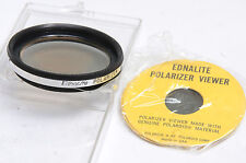Ednalite Series VI 6 Polarizer Poor Filter with Good Polaroid Viewer - USED X655
