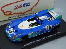 1/43 Spark MATRA SIMCA MS670 #15 WINNER LE MANS 1972