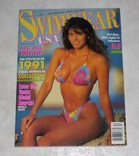 SWIMWEAR USA Magazine December 1990 Hi Grade! Venus Swimsuit 1991 Preview!